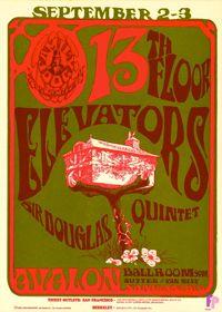13th Floor Elevators Avalon Ballroom 1966