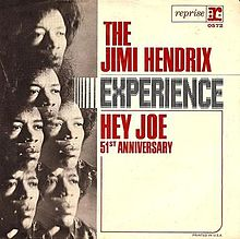 jimi hendrix experience hey joe single