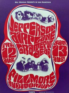 jefferson airplane concert poster
