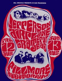 Fillmore psychedelic poster