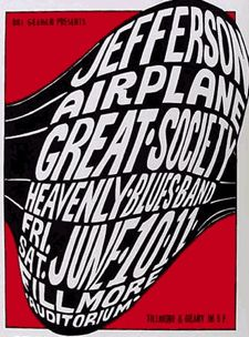 jefferson airplane great society poster