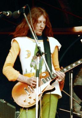 Daevid Allen of Gong in 1974