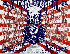 Atlanta Pop Festival poster