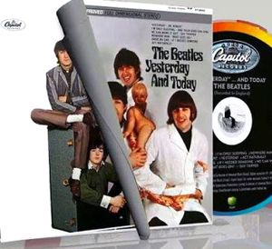 Beatles yesterday and today covers