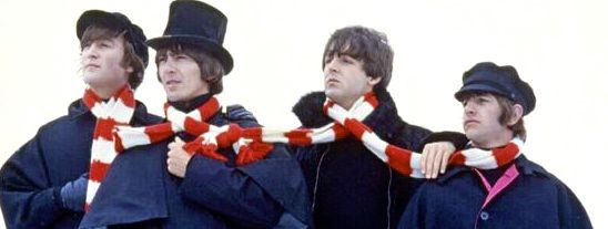 "the beatles in second film, ""Help!"""