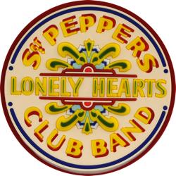 Beatles Sgt. Pepper drum