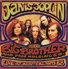 Big Brother and Janis Joplin live