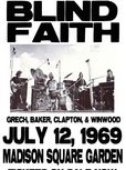 blind faith show poster