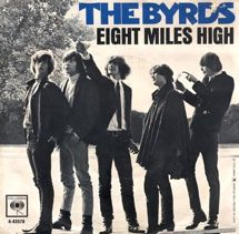 Byrds Eight Miles High record cover