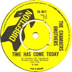 time has come today single