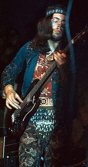 Glenn Cornick of Jethro Tull