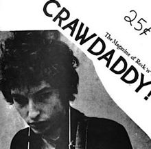 crawdaddy magazine with dylan