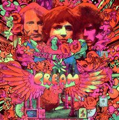 Cream psychedelic album Disraeli Gears