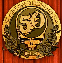 Grateful Dead 50th anniversary logo