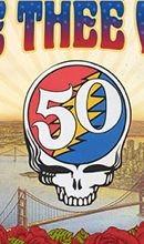 Grateful Dead skull 50th year reunion