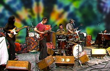 Grateful Dead rock on beat club TV show