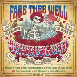 Grateful Dead poster for Chicago reunion show