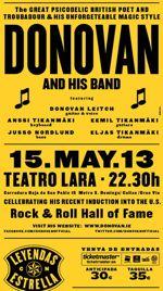 donovan in concert poster