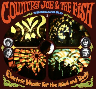 Psychedelic art cover of Country Joe & the Fish debut album