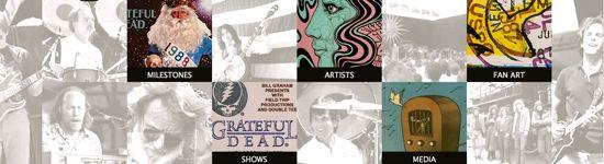 Grateful Dead Archive Online artwork