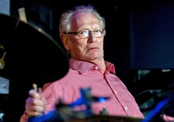 Ginger Baker playing jazz in NYC 2013