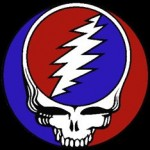 lightning logo for Grateful Dead