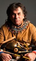 Percussionist Mickey Hart formerly of Grateful Dead