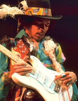 "Jimi Hendrix in ""Train"" documentary video"