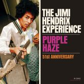 Jimi Hendrix psychedelic single