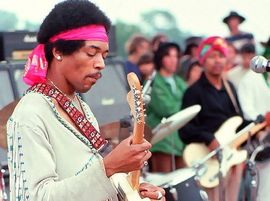 jimi hendrix in Woodstock film