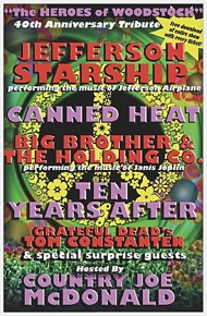 poster of woodstock psychedelic tour