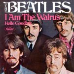 beatles I am the Walrus single 45 rpm cover