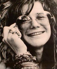 Janis Joplin psychedelic music star