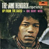 jimi hendrix up from the skies