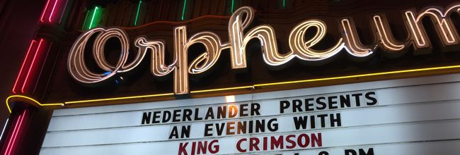 King Crimson live in Los Angeles