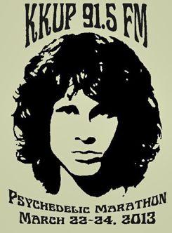 kkup psychedelic marathon poster