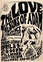 love psychedelic poster