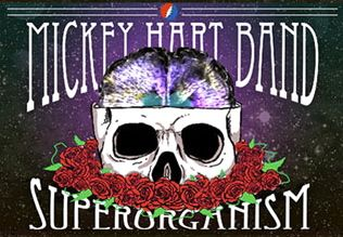 Mickey Hart Band tour logo