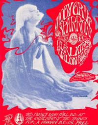 moby grape poster for Avalon concert
