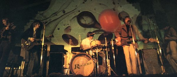 Moby Grape in concert with Dark Magic