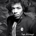 jimi hendrix for People, Hell & Angels cover