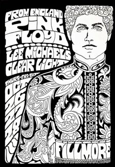 fillmore west pink floyd poster