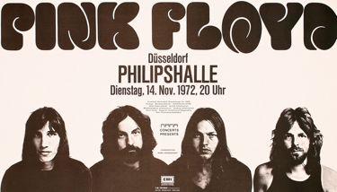 pink floyd concert poster 1972