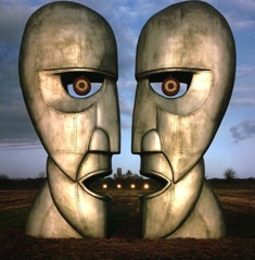 pink floyd heads for Gilmour and Waters story