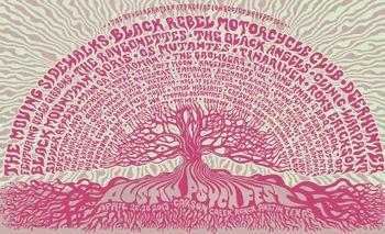 Austin Psych Fest poster 2013