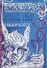 quicksilver messenger service ad for fillmore