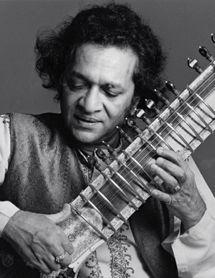 Ravi Shankar master of the sitar