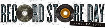record store day 2013 grunge logo