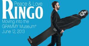 Ringo Starr poses for Grammy Museum promo