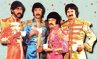 The Rutles in Beatles spoof with Eric Idle